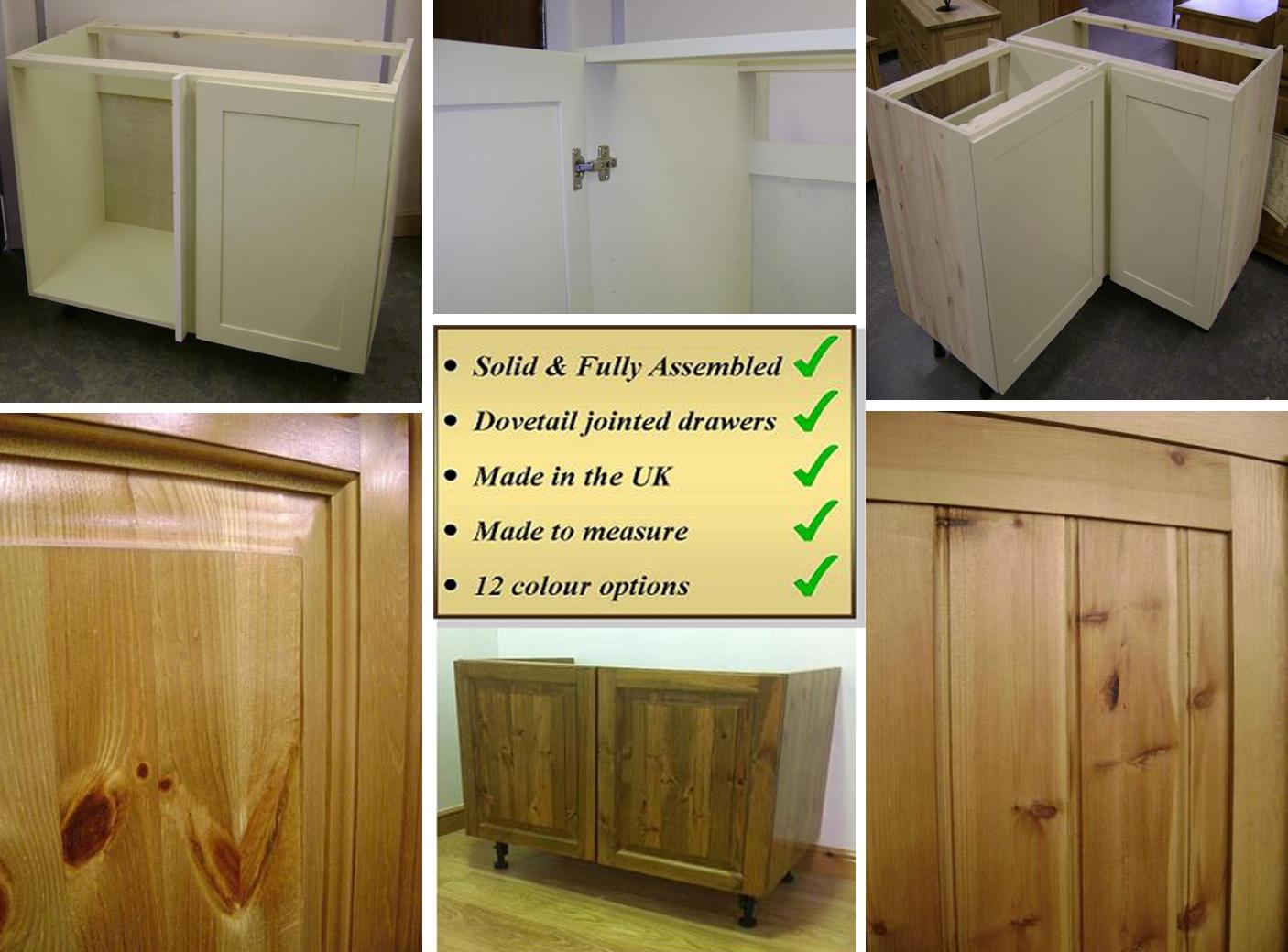 made to measure solid pine kitchens west midlands